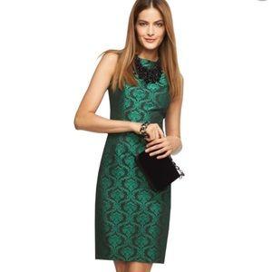 NWT BANANA REPUBLIC L'WREN SCOTT EMERALD DRESS (6)